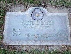 Hazel Ella <I>Hughes</I> Brown