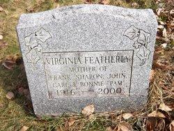 Virginia Iva Louise <I>Waite</I> Featherly