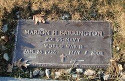 Marion H. Barrington