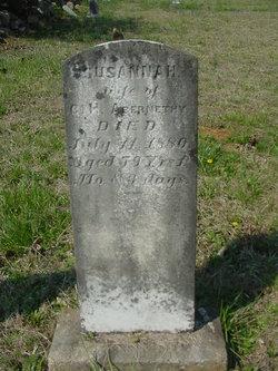 Susannah <I>Gault</I> Abernathy