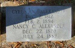 Nancy C. <I>Lawing</I> Alexander
