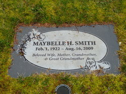 Maybelle Hilda <I>Green</I> Smith