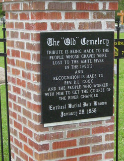 Amite Baptist Church Cemetery Old