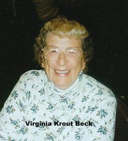 Virginia Beck
