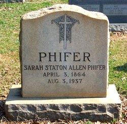 Sarah <I>Staton</I> Phifer