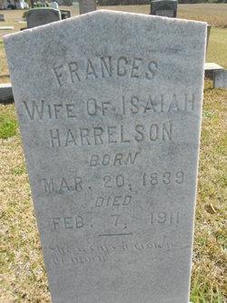 Frances <I>Powell</I> Harrelson
