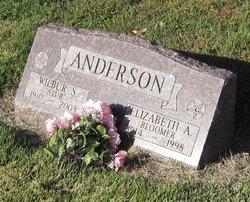 Elizabeth A. <I>Bloomer</I> Anderson