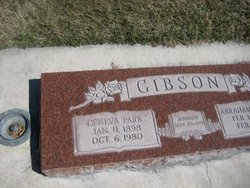Geneva Drusilla <I>Park</I> Gibson