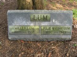 """William Miller """"Miller"""" Lum"""