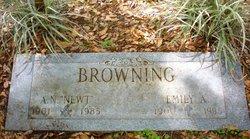 "Emily Marie ""Emmie"" <I>Allmond</I> Browning"