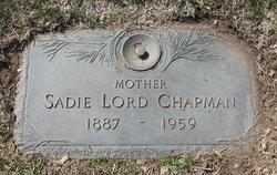 Sadie <I>Parker</I> Chapman