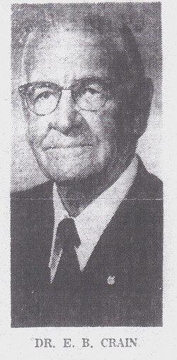 """Rev Eugene Beaufort """"E. B."""" Crain, Sr"""