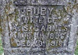 Ruby Mae <I>Lyle</I> Carnes