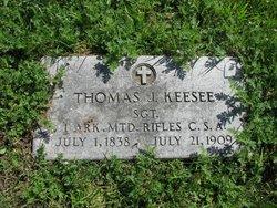 Sgt Thomas J. Keesee