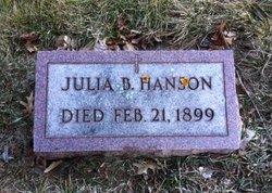 Julia B <I>Scully</I> Hanson