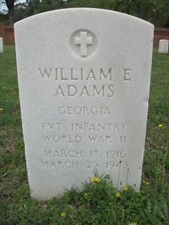 PVT William E Adams