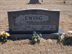 Ralph E Ewing