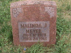 Malinda Jane <I>Deatherage</I> Meyer