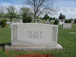 "Mary Elizabeth ""Bessie"" <I>Peach</I> Jones"