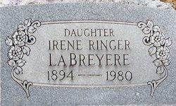 Irene <I>Ringer</I> LaBreyere