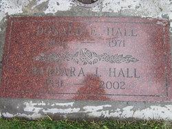 Barbara <I>Pannell</I> Hall