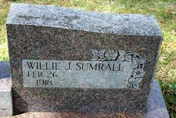 Willie J. <I>Sumrall</I> Blackwell