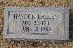 Haydon I Allen