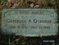 Gertrude L. <I>Ayers</I> Osborne
