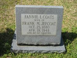 Fannie L <I>Coats</I> Jefcoat