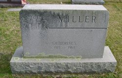 """Catherine Gay """"Kittie"""" <I>Spiker</I> Miller"""