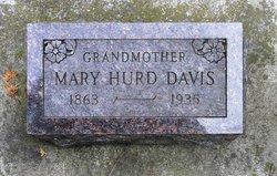 Mary <I>Hurd</I> Davis