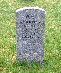 Henrietta A <I>Hanshaw</I> Bechtel