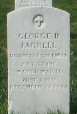 PVT George D. Farrell