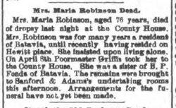 Maria <I>Fonda</I> Robinson