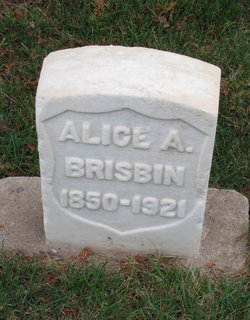 Alice Adelia <I>Crouch</I> Brisbin