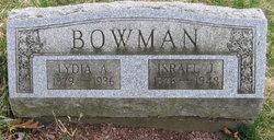 Lydia Ann <I>Herring</I> Bowman