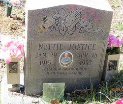 Nettie <I>Hatfield</I> Justice