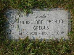 "Louise Ann ""Lulu"" <I>Pagano</I> Gregus"