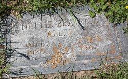 "Nettie Beatrice ""Bea"" <I>Luce</I> Allen"