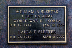 William B Sleeter