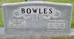 Robert Coleman Bowles