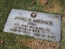 SGT James H Derthick