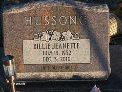 Billie Jeanette Hussong