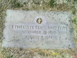 Ethel <I>Stevens</I> Britton