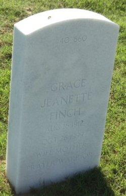 Grace Jeanette Finch