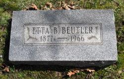 Etta Bell <I>Hall</I> Beutler