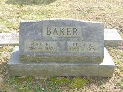 Lela A. <I>Hogans</I> Baker