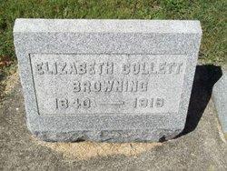 Elizabeth <I>Collett</I> Browning