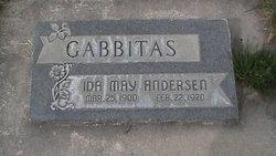Ida May <I>Andersen</I> Gabbitas