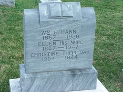 Ellen J. <I>Graham</I> Hann